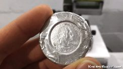 Counterfeiting a quarter using Bismuth thumbnail