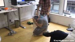 Kieran attempts Ziplock Bag Challenge thumbnail