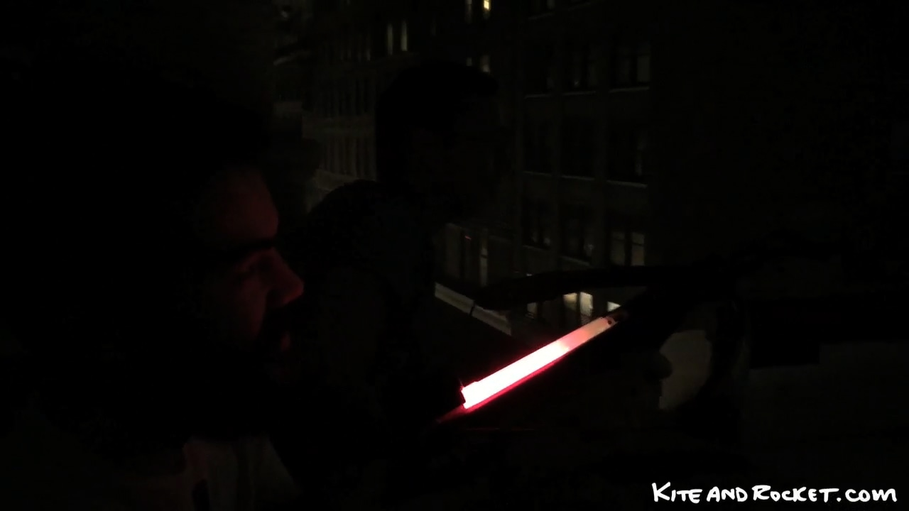 Attempting To Fire A Glow Stick Across 39th Street With A Crossbow thumbnail