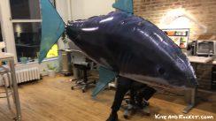 Nerf blaster air shark target practice thumbnail